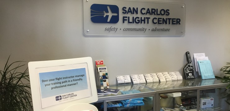 Showing you care about customers – San Carlos Flight Center
